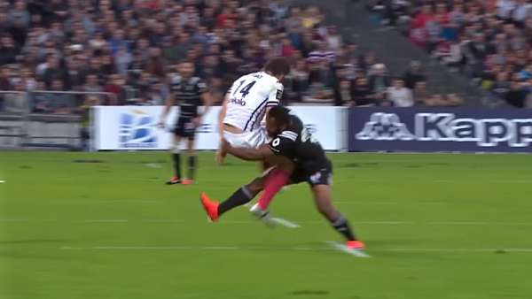 Top 5: Tackles - Top 14 - Fecha 8