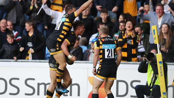 London Wasps 21-20 Leicester