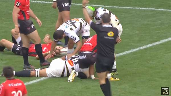 Top 5: Tries - Top 14 - Fecha 6