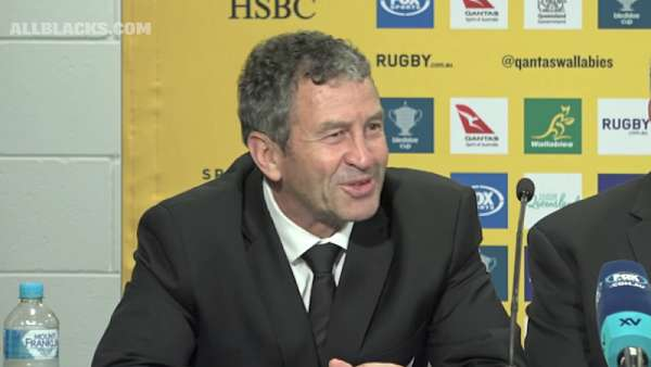 Wayne Smith se despidió de los All Blacks