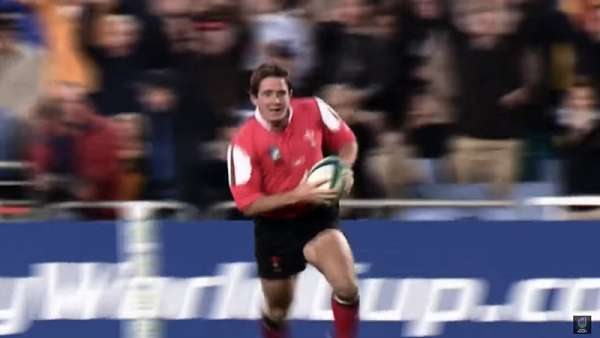 Shane Williams y su gran actuación en 2003