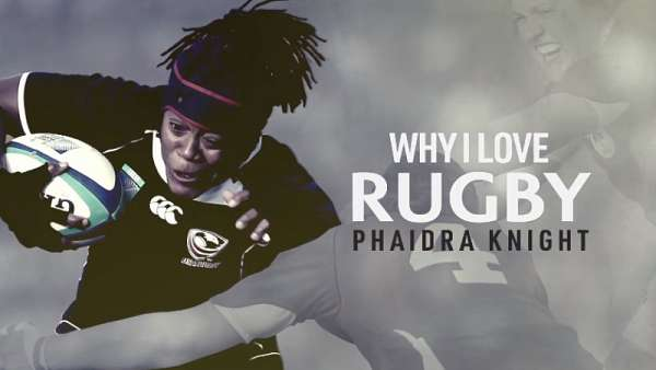 "Phaidra Knight en ""Why I Love Rugby"""