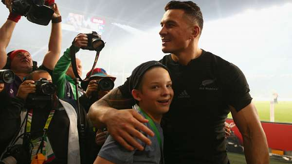 Sonny Bill Williams, distinguido por Fair Play