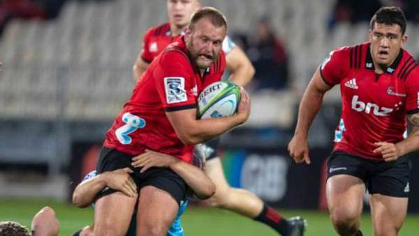 Joe Moody anticipa la semifinal de Crusaders ante Hurricanes