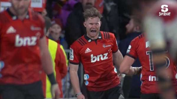 El Try de la Final del Super Rugby