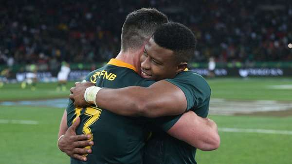 Springboks 23-12 Wallabies