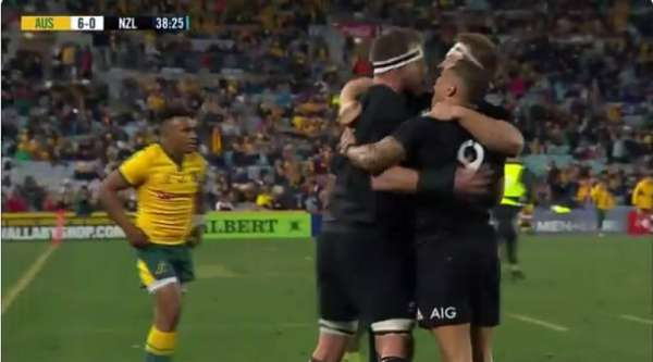 El Top 5 de tries de los All Blacks en el Rugby Championship