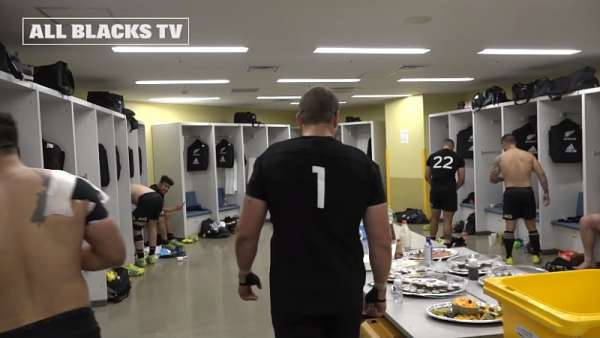 La intimidad de los All Blacks tras la victoria ante Wallabies