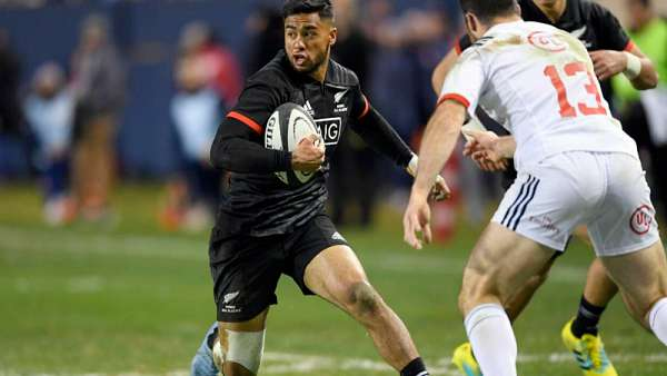 Maorí All Blacks 59-22 Estados Unidos