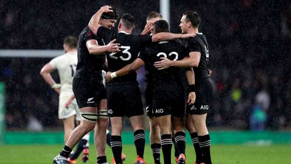 Inglaterra 15-16 All Blacks