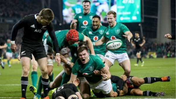 Irlanda 16-9 All Blacks