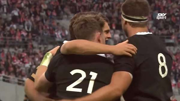 George Bridge y el 10° mejor Try de los All Blacks en 2018