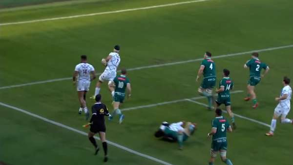 El Top 5 de Tries de la jornada 14 del Top 14