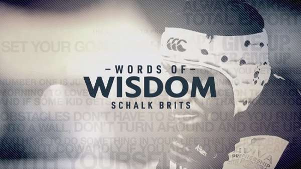 "Schalk Brits en ""Words of Wisdom"""