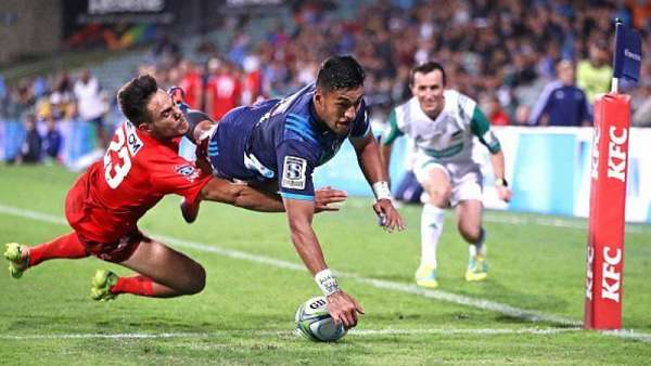 Blues 28-20 Sunwolves