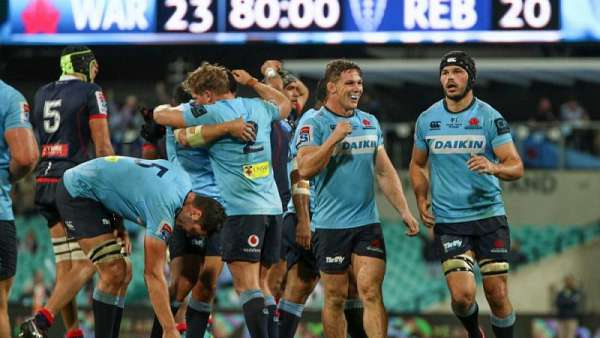 Waratahs 23-20 Rebels