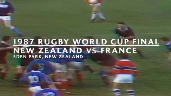 El recuerdo de All Blacks vs Francia en 1987