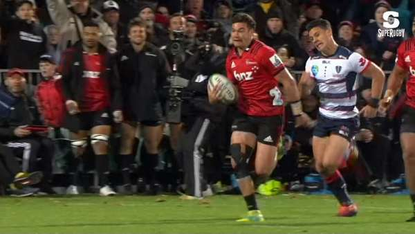 "El ""Try Of The Week"" fue para Crusaders"