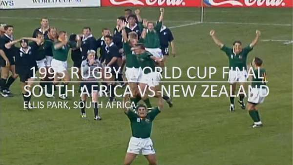 El recuerdo de Springboks vs All Blacks en 1995