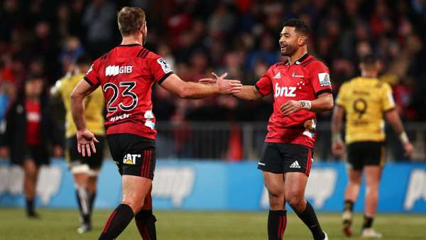 Crusaders 30-26 Hurricanes