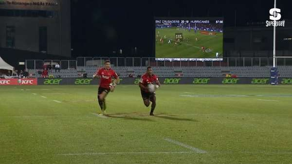 "El ""Try Of The Week"" es de Crusaders"