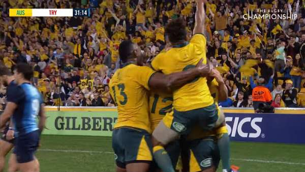 "La ""Play Of The Week"" fue para los Wallabies"