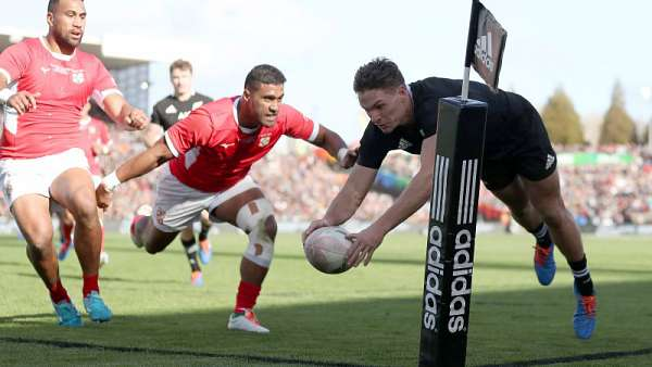 All Blacks 92-7 Tonga