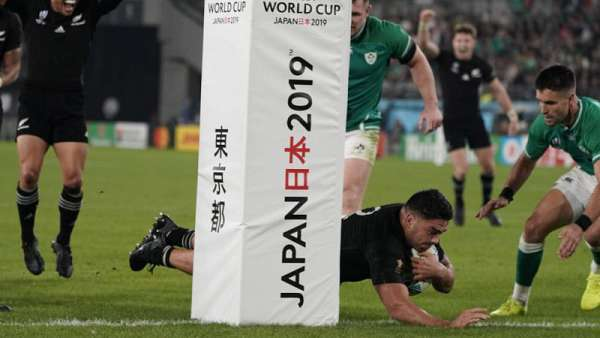 Todos los tries de los All Blacks en 2019