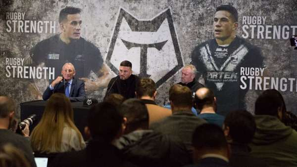 Sonny Bill Williams se sumó a Toronto Wolfpack