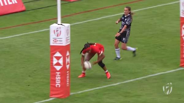 Top 7 Tries Seven femenino de Dubai