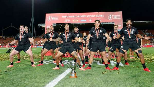 All Blacks 7's campeón en el Seven de Hamilton