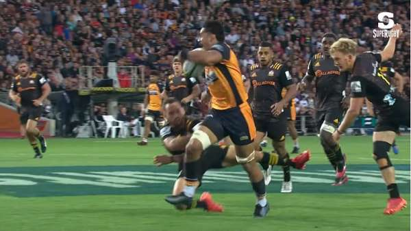"El ""Try Of The Week"" fue para Brumbies"