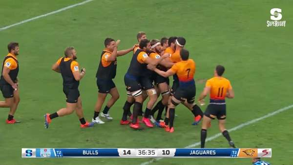 Top 5 Tries de la Jornada 5 del Super Rugby