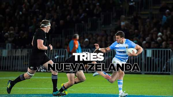 Top 5 Tries de Los Pumas ante los All Blacks