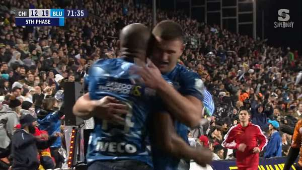 "El ""Try Of The Week"" fue para los Blues"