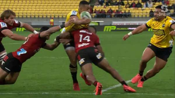 "La ""Play Of The Week"" fue para Ngani Laumape"