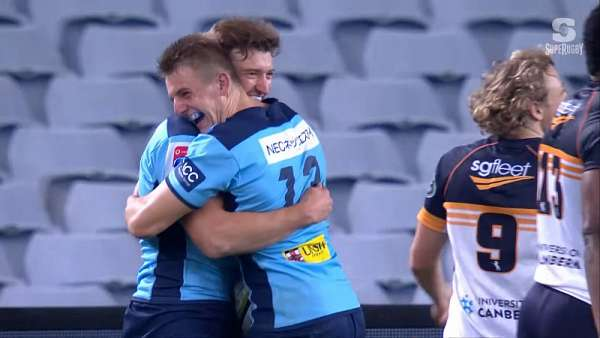 "Waratahs se llevó la ""Play Of The Week"" australiana"