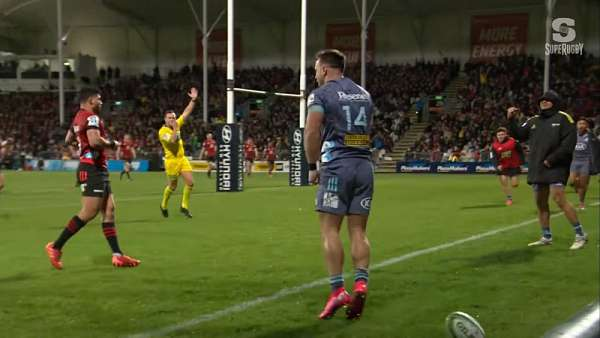"El ""Try Of The Week"" en Nueva Zelanda fue para Hurricanes"