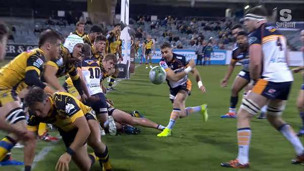 "Los Brumbies se quedan con la ""Play Of The Week"""