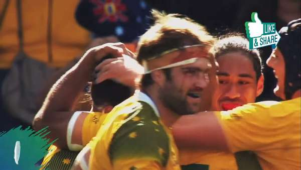 Top 10 Tries de Wallabies en la Rugby World Cup
