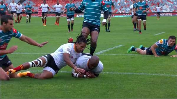 "El ""Try Of The Week"" fue para Cheetahs"