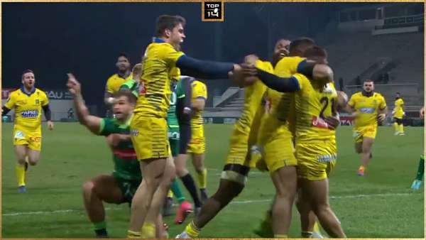 Top 5 Tries de la Jornada 14 del Top 14
